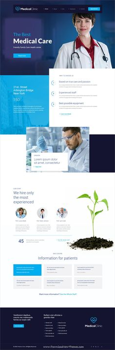 TheCapital is clean and modern design multipurpose #PSD template for creative #medial and #healthcare clinics website with 14 niche homepage layouts and 40 layered PSD files to live preview & download click on image or Visit #webdev