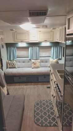 More click [.] Top Rv Camper Decoration Ideas Trailer Camper Decorating Ideas Unique Nice 61 Easy Rv Remodel Decorating Ideas Raykomnet Camper Decorating Ideas New 3372 Best Vintage Camper Decor Images On Kombi Motorhome, Rv Campers, Camper Trailers, Happy Campers, Travel Trailers, Rv Travel, Camper Van, Travel Trailer Living, Small Campers