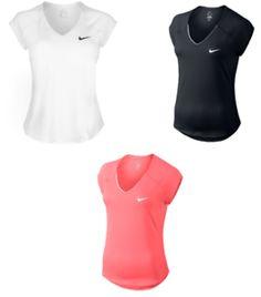 a nike camiseta t camiseta manga corta mujer jogging fitness correr sport  1404 54dc8e8cd28