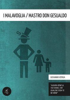 I Malavoglia / Mastro Don Gesualdo [Literary Classics Series] - Giovanni Verga (author), Gabriele Ciufo (cover)