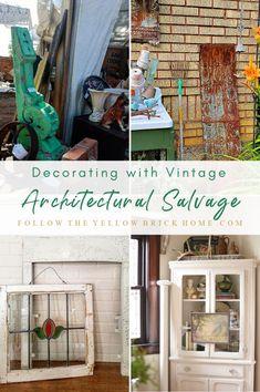 Vintage Windows, Vintage Walls, Vintage Decor, Vintage Style, Late Summer Flowers, Vintage Door Knobs, Porch Posts, Tin Tiles, Farmhouse Windows