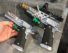 New competition guns pay tribute to the shooting sport of IPSC