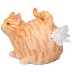 Cat Butt Tissue Box