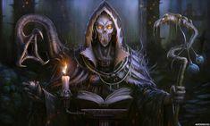 Pastor Hell by bluerainCZ on DeviantArt Grim Reaper Art, The Dark World, Fantasy Characters, Fictional Characters, Fantasy Inspiration, Dark Art, Dark Side, Fantasy Art, Horror