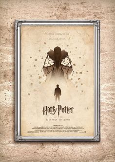 Harry Potter and the Deathly Hallows 24x36 Movie by adamrabalais, $45.00