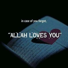 Allah loves you Allah Quotes, Muslim Quotes, Quran Quotes, Religious Quotes, Allah Islam, Islam Quran, Islam Muslim, Quran Surah, Islam Beliefs