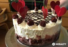 Feketeerdős torta sütés nélkül
