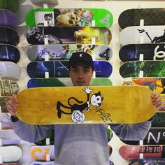 @doomsayersclub wood recommended by @yipchak now available @8five2shop www.8five2.com retail price at HKD600 including griptape #8five2 #852 #hkskateshop #doomsayersclub