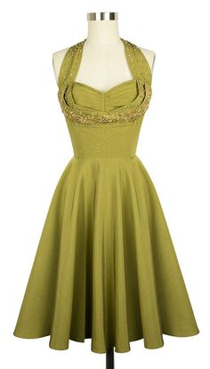The new limited edition Trashy Diva Lena Dress in Beaded Olive Ribbed Rayon is now available for preorder! The Lena Dress is so classy and elegant!