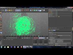 Cinema 4D - Particles Swarm - Tutorial (PART 1) - YouTube
