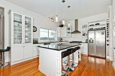 Gorgeous lifestyle block kitchen, designed by Heather Wood  CKDNZ for Stewart Scott Cabinetry Ltd