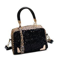 $14.27 (Buy here: https://alitems.com/g/1e8d114494ebda23ff8b16525dc3e8/?i=5&ulp=https%3A%2F%2Fwww.aliexpress.com%2Fitem%2FNew-Arrival-Women-Leopard-Handbag-Bling-Sequins-Tote-Purse-PU-Leather-Evening-Bag%2F32593493221.html ) 2016 Brand Leopard Sequin Tote Handbag Designer Women Leather Handbags Crossbody Bag Fashion Women Messenger Bags Bolsa Feminina for just $14.27