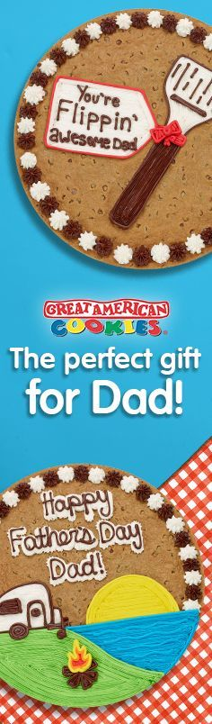 Click to order a Cookie Cake for Father's Day!