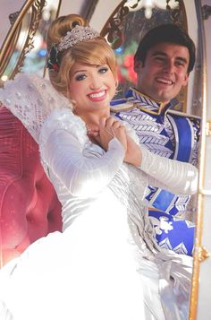 The perfect couple ...Cinderella and Prince Charming