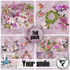 Your smile Full pack by Black Lady Designs