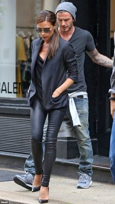 Victoria Beckham......love the outfit. . . looking for this. . . haha