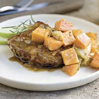 Savory Herb Pork Chops by Sunset