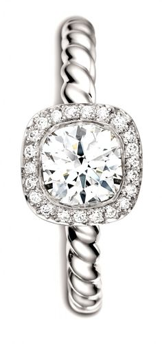 All of the other rings I've pinned are now irrelevant. I WANT THIS ONE!! David Yurman <3
