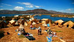 Lake Titicaca, Peru to see the Uros Islands (man-made islands) in Peru/Bolivia Lake Titicaca Peru, Travel Around The World, Around The Worlds, Bolivia Peru, Island Man, Peru Travel, Trip Planning, South America, Places To See