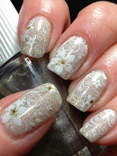 Canadian Nail Fanatic: Digit-al Dozen Does Floral; Day 4...where do I get theses nail skins please?