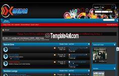 vBulletin Themes Free - Dark Black Template #dark #vbulletin #themes #template