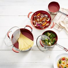 Cook up a storm with this set from Cook's Essentials, you can do anything from stewing, boiling, frying, braising to baking and more.