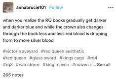 Red Queen Characters, Book Characters, Book Tv, Book Nerd, Red Queen Book Series, Good Books, Books To Read, Red Queen Victoria Aveyard, Quotes For Book Lovers