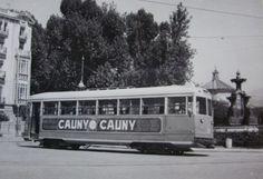 Tranvias de Granada, c.1950, fotografo desconocido
