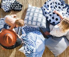 Shop Strands: High-quality, exclusive-designed, 5-foot, tasseled, round towels for any beach enthusiast. Orange County, California.