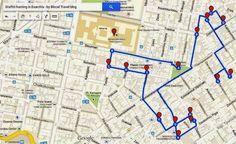 Athens street art guide: the best murals, neighborhoods' descriptions and detailed maps. Greek Beauty, New Travel, Greece Travel, Map Art, Athens, The Neighbourhood, Graffiti, Street Art, To Go