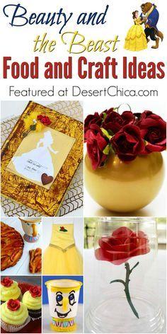 Beauty & the Beast Food & Craft Ideas