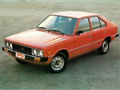 1975 Hyundai Pony publicity picture