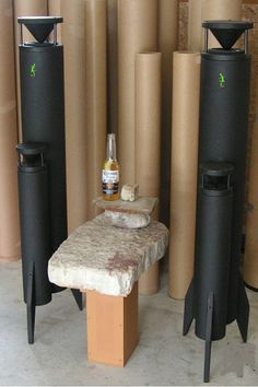 """The Peabody Omnidirectional """"2b"""" tower speakers..."""