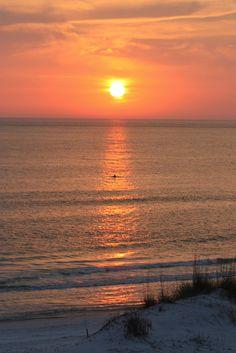 sunset on cape san blas