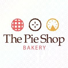 Logo: I like the different, simple pies and the color of the first one
