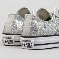 Ulanka :: Zapatillas Converse Glitter Plata