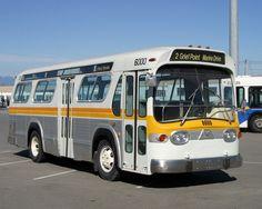 """1976 General Motors T6H4523N """"Fishbowl"""" bus."""