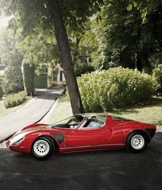 1968 Alfa Romeo Tipo 33 Stradale http://www.wheelsofitaly.com/wiki/index.php?title=Alfa_Romeo_33_Stradale