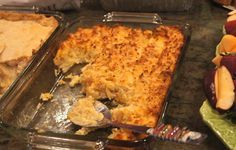Cheese Hash-brown Casserole A little different from my recipe, will have to try.  My kids love cheesy potatoes.