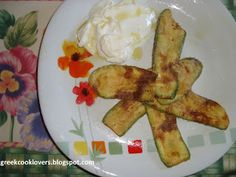 GREEK COOK LOVERS: FRIED ZUCCHINI