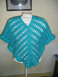 Child's Poncho by FayleensHandicrafts on Etsy
