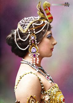The real Mata Hari in her later years