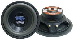 Pyramid PW1586X 15-Inch 1200 Watt Subwoofer by Pyramid. $55.82. New Pattern Strong Black Paper ConeWide Heavy Foam Surround Rigid Powder Coated Stamped Steel Basket Bumped & Vented Pole Piece With Rubber Gasket & Rubber Magnet Boot 2.5-Inch 4 Layer Kapton Voice Coil 4 Ohm Impedance 600 Watts RMS/1200 Watts Peak Overall Diameter: 15.47-Inch SPL @ 1W/1M: 89.5dB Magnet Weight: 110 oz. Mounting Depth: 6.14-Inch. Save 61% Off!