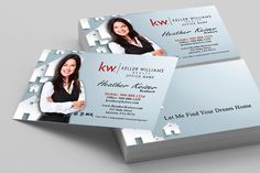 Keller Williams Real Estate Agents business card gallery from www.printifycards.com