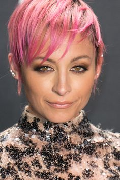 Nicole Richie at the Tom Ford Autumn/Winter 2015 Womenswear Collection