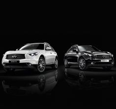 Infiniti FX Black & White editions