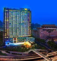 Hotel W Beijing Chang'an, Pekín. #VilleroyBoch #VilleroyBoches #toplocations #estilo #diseño #elegancia #premium #inspiración #lugarestop