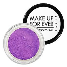 Make Up For Ever Pure Pigments contains a high color concentration that can be used on the eyes or lips. You can mix it in with your clear gloss to create your own personalized color, apply it on the lid for a swash of color, or create a liner by applying with a wet brush. Play with the color to create a rich pigment that pops. Purple! Purple! Purple! #SephoraColorWash sephora-color-wash