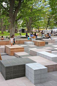 Reinterpreting Nature in Design: Teikyo Heisei University Nakano Campus - Landscape Architects Network - Studio on Site: