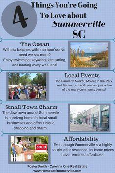 If you are looking for Real Estate in Summerville, SC visit www.HomesofSummerville.com #SummervilleLiving #SummervilleRealEstate #FosterSmith #CarolinaOneRealEstate